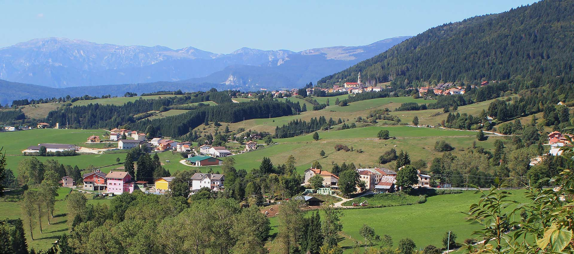 Panorama of Mezzaselva