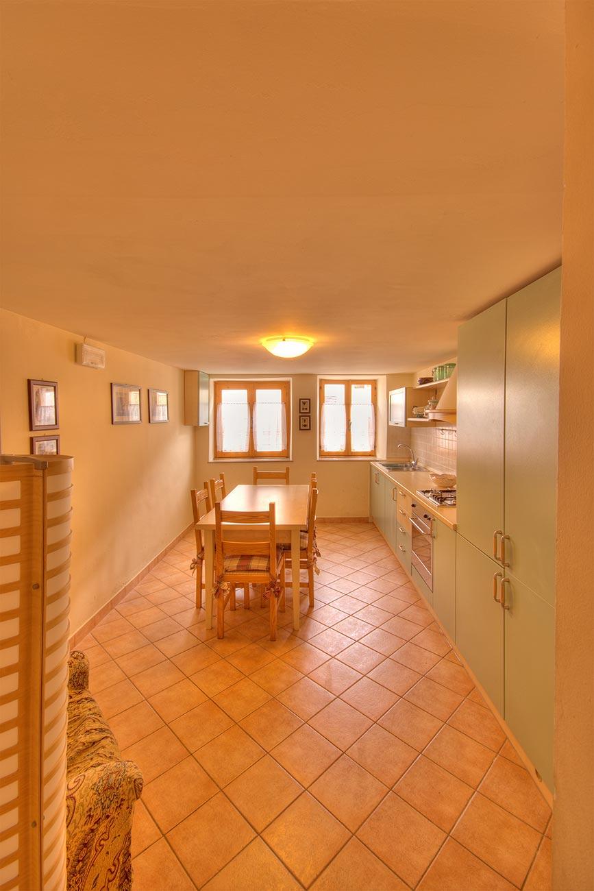 I due appartamenti con vista a mezzaselva sull 39 altopiano for Appartamenti a asiago