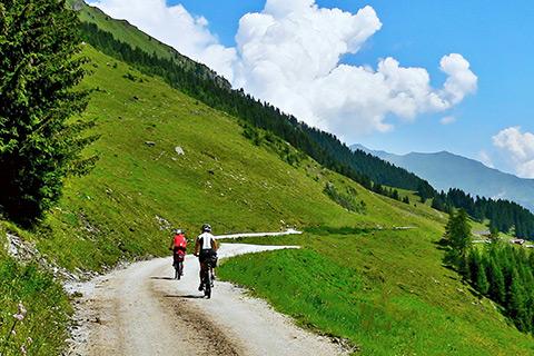 Escursione in MTB