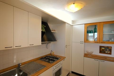 Moderna cucina in legno