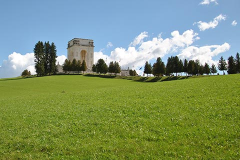 The military shrine of Asiago