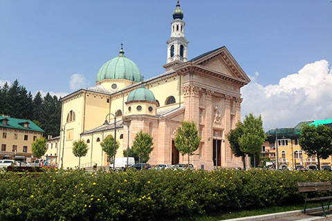 Cathedral of St. Matthew in Asiago