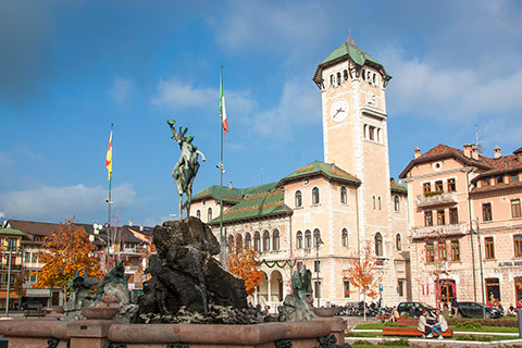 Municipio di Asiago in Piazza Carli