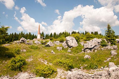 Il Monte Zebio e la mina di Scalambron