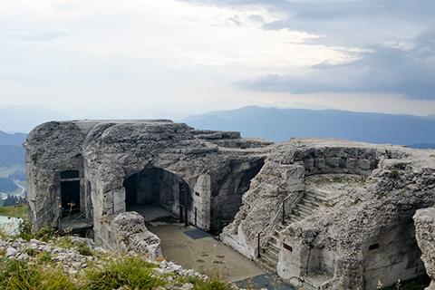 Forte Verena sul Monte Verena